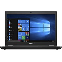Dell Latitude 5480 Business Laptop | 14.0 inch HD Anti-Glare Display | Intel Core 7th Generation i5-7200U | 8 GB DDR4 | 500 GB HDD | Windows 10 Pro