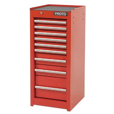 Charmant Stanley Proto J441535 9RD SC 440SS Side Cabinet, 9 Drawer, Red