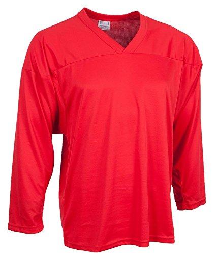 CCM Senior Hockey Practice Jersey - 10200 - Red - Medium