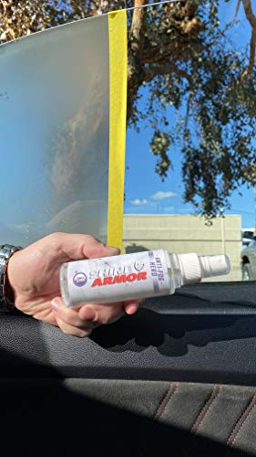 SHINE ARMOR Anti Fog Hero with Microfiber Cloth Windshield & Glasses Spray Cleaner and Protector to Increase Visibility. Works on Windows, Glasses, Screens, Windshields, Goggles, and Visors