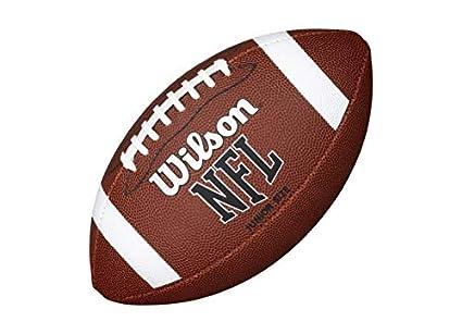 Wilson NFL - Balón de fútbol Americano Junior (con Remache para ...