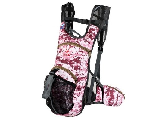 BILL NIU 0117 Unisex Rose Digital Camouflage Outdoor Backpack