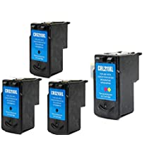 SaveOnMany ® 4 PK Canon PG-210XL PG210XL / CL-211XL CL211XL (3* Black and 1* Color) PG210 PG-210 CL211 CL-211 XL Extra Yield Compatible Remanufactured Ink For Canon PIXMA ip2702 MP230 MP270 MP495 IP2700 MP240 MP250 MP280 MP480 MP490 MP495 MX320 MX330 MX340 MX350 MX360 MX410 MX420