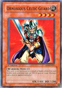 Yu-Gi-Oh! - Obnoxious Celtic Guard (SD5-EN007) - Structure Deck 5: Warrior's Triumph - 1st Edition - (Obnoxious Celtic Guard)