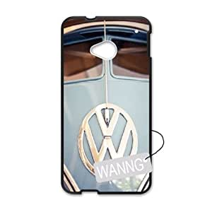 VW Mini Bus Teal HTC One M7 DIY Case, VW Mini Bus Teal Custom Case for HTC One M7 at WANNG