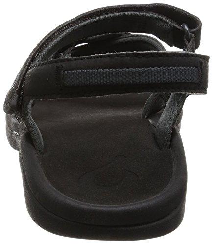 OluKai - Sandalias de vestir para mujer negro