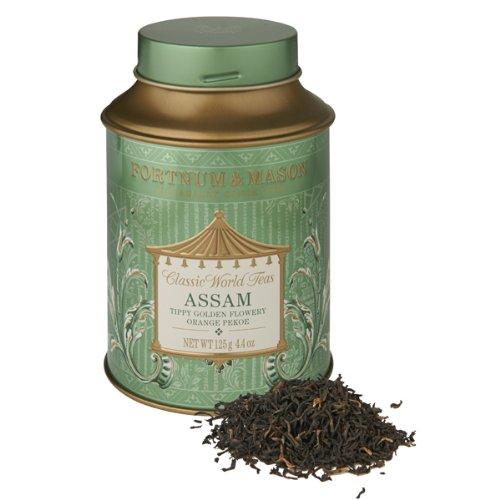 Fortnum & Mason Assam Assam Tippy Golden Flowery Orange Pekoe (TGFOP) 125g Loose Leaf Tea Tin
