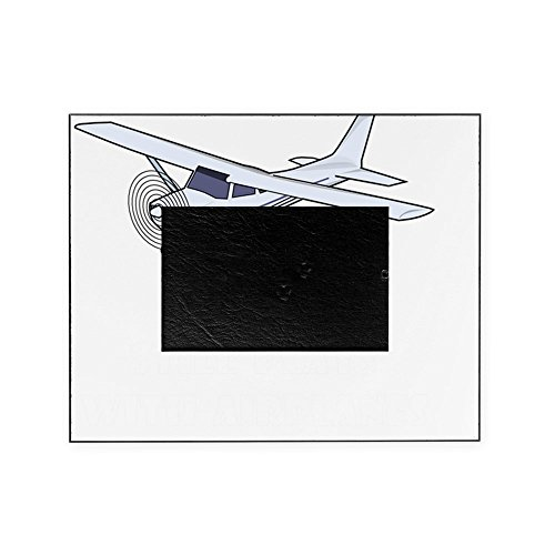 CafePress - Plays With Airplanes White - Decorative 8x10 Picture Frame (4 Airplanes Picture)