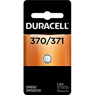 Duracell - 370/371 Silver Oxide Button Battery - long lasting battery - 1 count