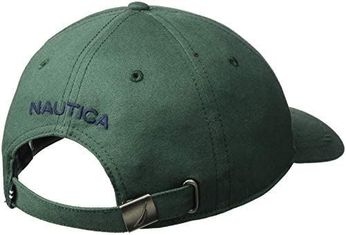 Nautica Mens Classic Logo Adjustable Baseball Cap Hat