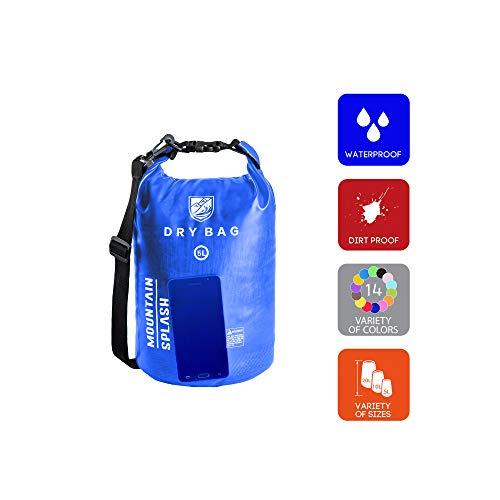 Waterproof Bag-Dry Bag-Waterproof Backpack-Dry Bags-Dry Sack-Dry Pack-Waterproof Bags-Kayak Bag-Boat Bag-Dry Backpack-Camping Gear Bag-Bag Waterproof-Dry Bag Backpack-Wet Dry Sack (5L, Deep Water)