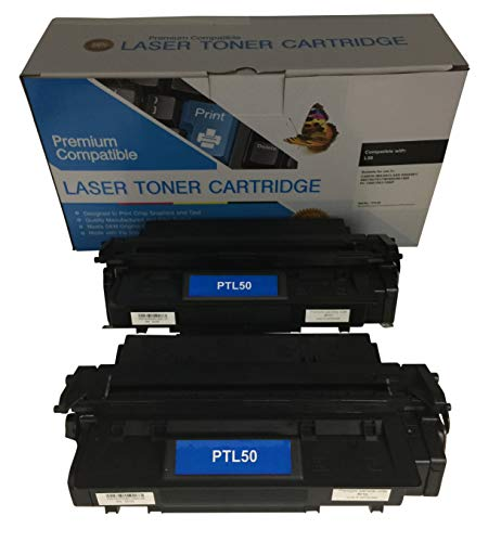2 Compatible Black Cannon imageCLASS D761 L50 Printer Copy Ink Toner Cartridge Replacement for Canon L5O Image-Class D-761 All-in-one Multifunction Copier Machine 6812A001AA