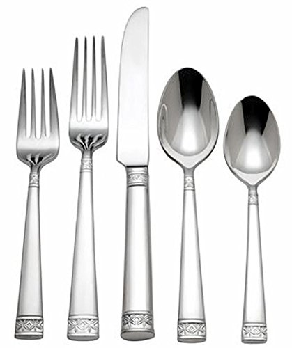 Waterford Lismore Nouveau 5 Piece Place Setting Flatware Stainless NEW