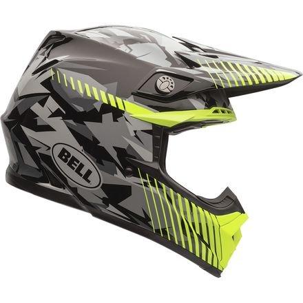 Bell Camo Men's Moto-9 Off-Road Motorcycle Helmet - Yellow / Large (Velocity Off Road Helmet)