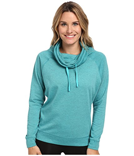 Nike Obsessed Infinity Coverup L/S Top (medium, dusty)