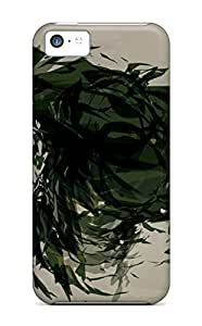 Slim Fit Tpu Protector Shock Absorbent Bumper Incredible Hulk Abstract Art Case for iphone 5c
