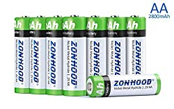 Specification Batteries Type: AA Ni-MH POLYMER BATTERIES Batteries life: equal to 1200 times recycling use Standard voltage: 1.2V Rated Capacity: 2800mAh Rated energy: 0.6wh Rated output voltage: 1.2V Rated input voltage: 5V USB input Charging voltag...