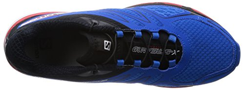 Salomon X-Scream 3D Herren Traillaufschuhe Blau (Union Blue/Black/Quick)