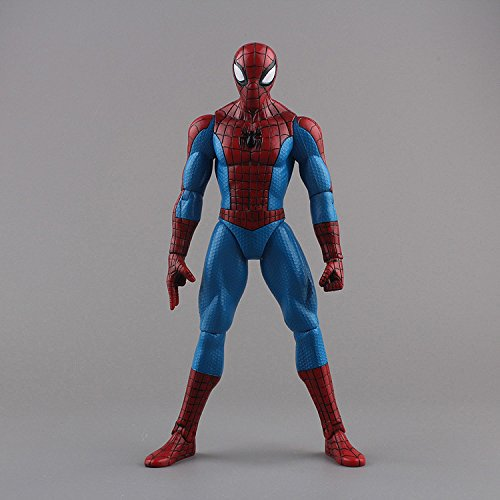 Spider Man Bed Tent - Spiderman Toys Marvel Superhero The Amazing Spider Man PVC Action Figure Collectible Model Toy 8