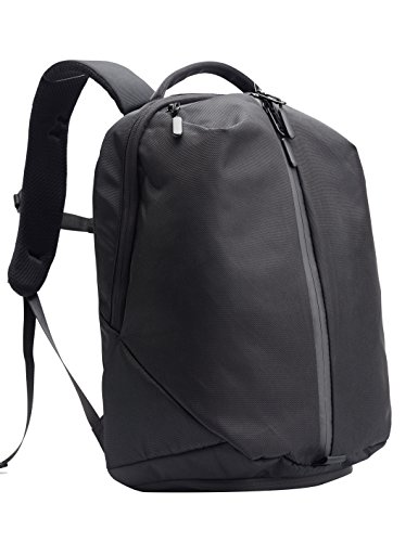 Kah&Kee Compact Gym Work Backpack Waterproof Travel School Bag Good for Laptop and Multipurpose (Black)