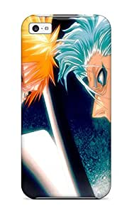 Defender Case With Nice Appearance (bleach) For Iphone 5c