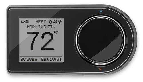 Lux Pro GEO WiFi Smart Thermostat Black