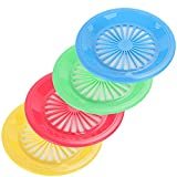 """10"""" Reusable Plastic Paper Plate Holders - Set of"""