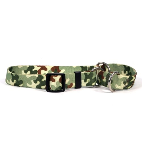 Camo Martingale Control Dog Collar - Size Medium 20