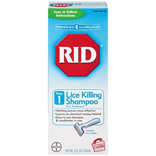 RID Shampoo, 8-Ounce - Buy Packs and SAVE (Pack of 4)