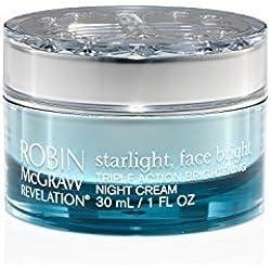 Robin McGraw Revelation Starlight, Face Bright – Triple Action Brightening Night Cream, 1 fl. oz.