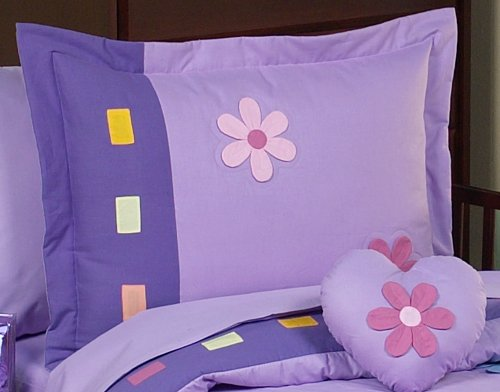 Danielle's Daisies Toddler Bedding 5 pc set by Sweet Jojo Designs by Sweet Jojo Designs