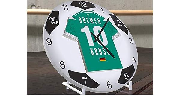 FanPlastic MAX Kruse 10 SV Werder Bremen - edición de Letras de Fooball diseño de Base de fútbol.!: Amazon.es: Deportes y aire libre
