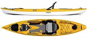 Eddyline C-135 Stratofisher Kayak Yellow over White