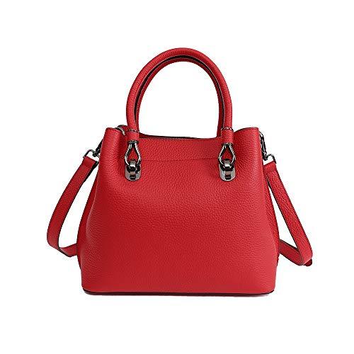 Mano color Para Mujer Cuero Bolsos Red Viaje Bolso Bandolera Red Trabajo Bolsa Uzanesx De tPSw00