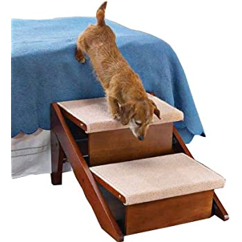 Amazon Com Pet Studio Ramp Step 2 Steps Pet Stairs