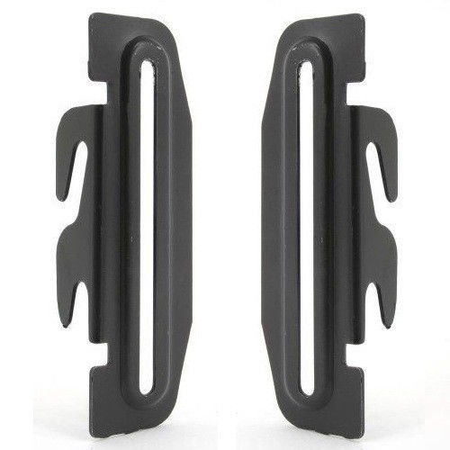Down Hook Bracket Headboard Adapter #35, TWO Down Hooks, Bolt-On To Hook-On Conversion Bracket, Conversion Of Non Down Hook Bed Frame To Hook-On Head and Foot Boards Attachment, 2'' Height Adjustment