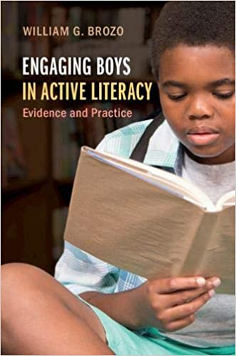 cover image, Engaging Boys in Active Literacy