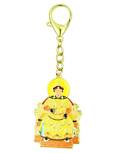 Feng Shui Import Jade Emperor Heaven Keychain Talisman