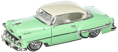 Jada 1: 24 Mijo Street Low 1953 Chevrolet Bel Air HT - Teal Green Diecast Vehicles ()