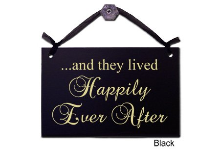 Wrapped In A Cloud …and They Lived Happily Ever After-Decorative Sign S-100-K