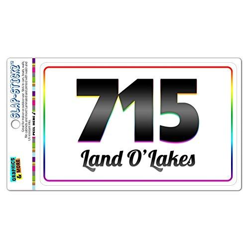 area-code-rainbow-window-laminated-sticker-715-wisconsin-wi-goodman-marathon-land-olakes