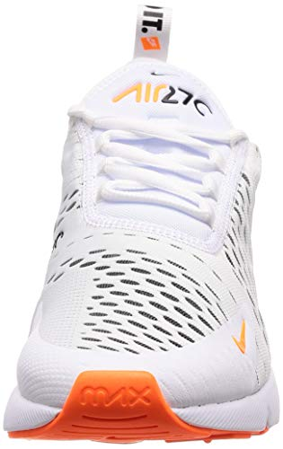 NIKE 106 da Basse Max Ginnastica Air Multicolore White Total Orange Scarpe Black 270 Uomo r6OwrTq