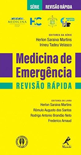 Medicina de Emergência Revisão Rápida. HC FMUSP - Série Revisão Rápida