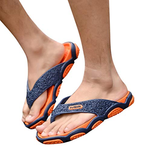 Geetobby Men's and Women's Flip Flop Shower Rubber Sandals Flip Flops Shoes by Geetobby Men's Shoes (Image #2)