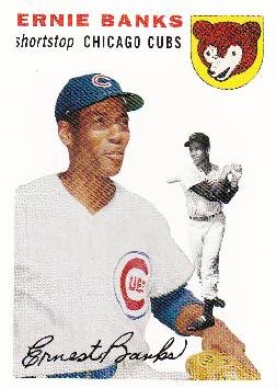 2006 Topps Rookie of the Week #94 Ernie Banks Baseball Card