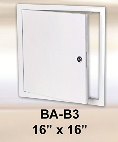 16 x 16 Access Panel Steel Sheet with cylinder lock