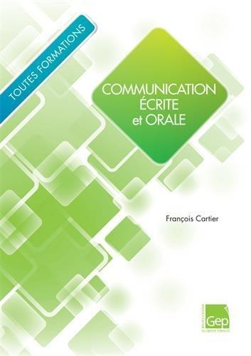 Communication écrite et orale - Elève : Toutes formations