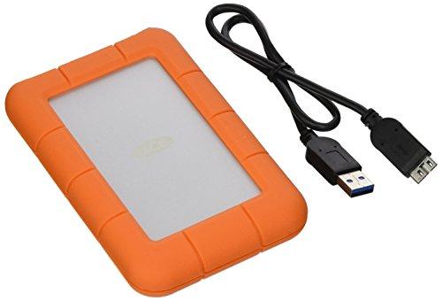 LaCie LAC301558 Rugged Mini USB 3.0 Portable External HD,...