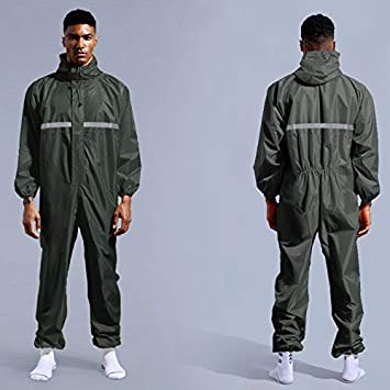 Outdoor Cycling Camouflage Waterproof Jumpsuit Raincoat Motorcycle Rainwear Set Men Women Hiking Camp Rain Coat