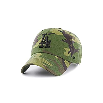 Los Angeles Dodgers 47 Brand Unwashed Camo Clean Up Slouch Fit Hat